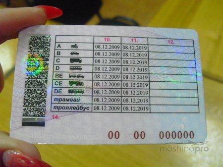 Документы для замены водительского удостоверения в 2018 году