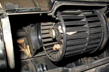 Быстрая замена вентилятора отопителя Lada 2114: руководство к действию