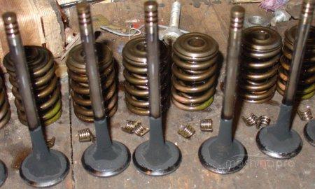 Наладка клапанного механизма ЯМЗ 238