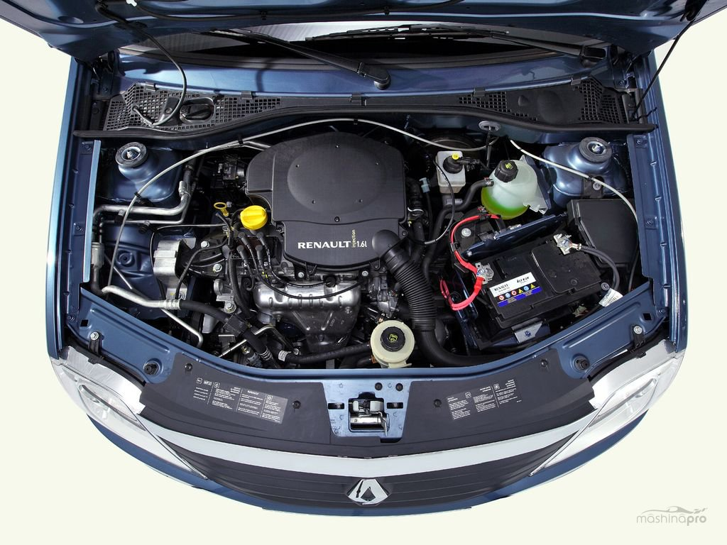 renault logan 1.4 двигатель