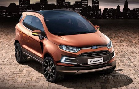 Техническая экспертиза последней модели Ford EcoSport