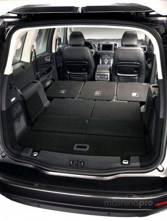 Какие параметры у третьего поколения Ford Galaxy?