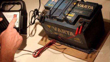 Правильная зарядка автомобильного аккумулятора зарядным устройством