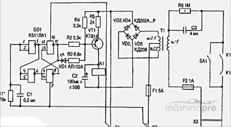 Схемы зарядных устройств для автомобильного аккумулятора