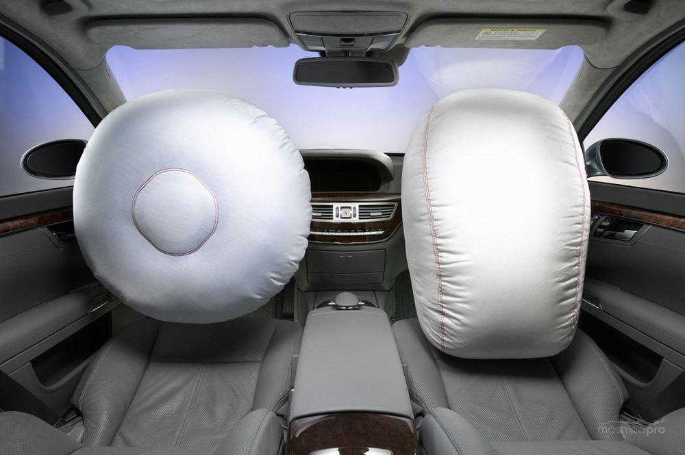 Фронтальные подушки безопасности