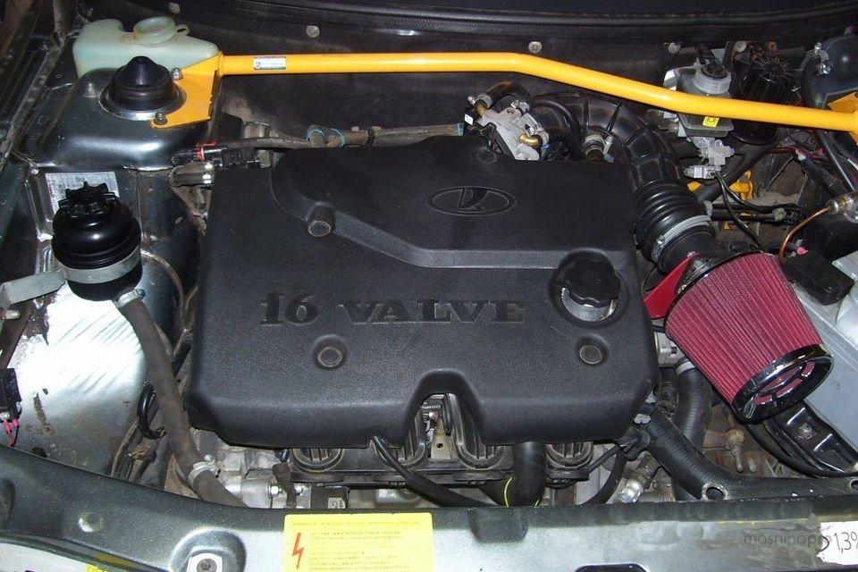 Особенности тюнинга мотора у Приоры