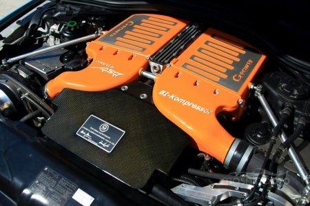 По параметрам мощности BMW G-POWER М5 стал сильнее на 30 лошадей, но на максимлаьной скорости это никак не отразилось