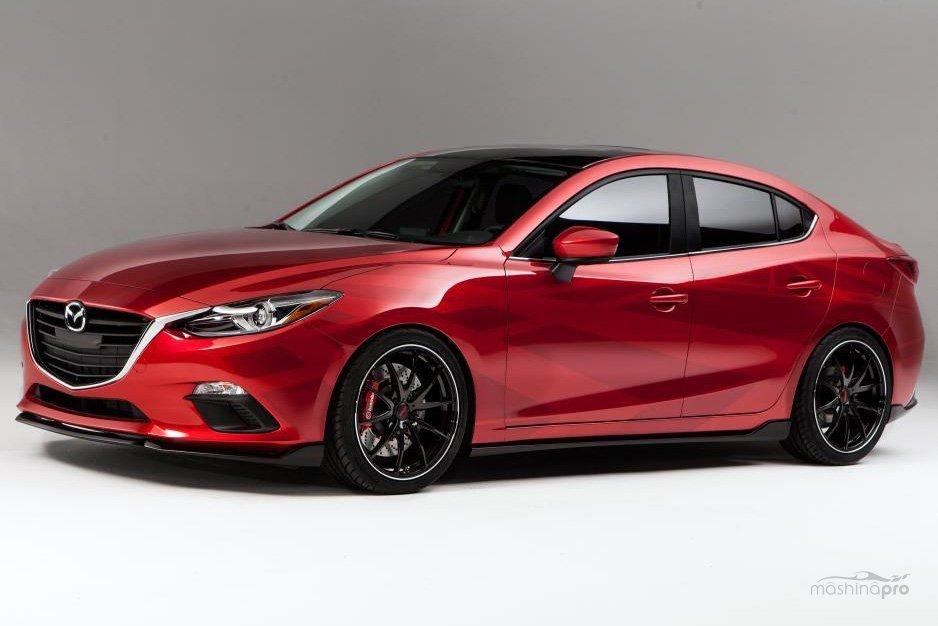 Mazda 3: философия струящегося потока 35