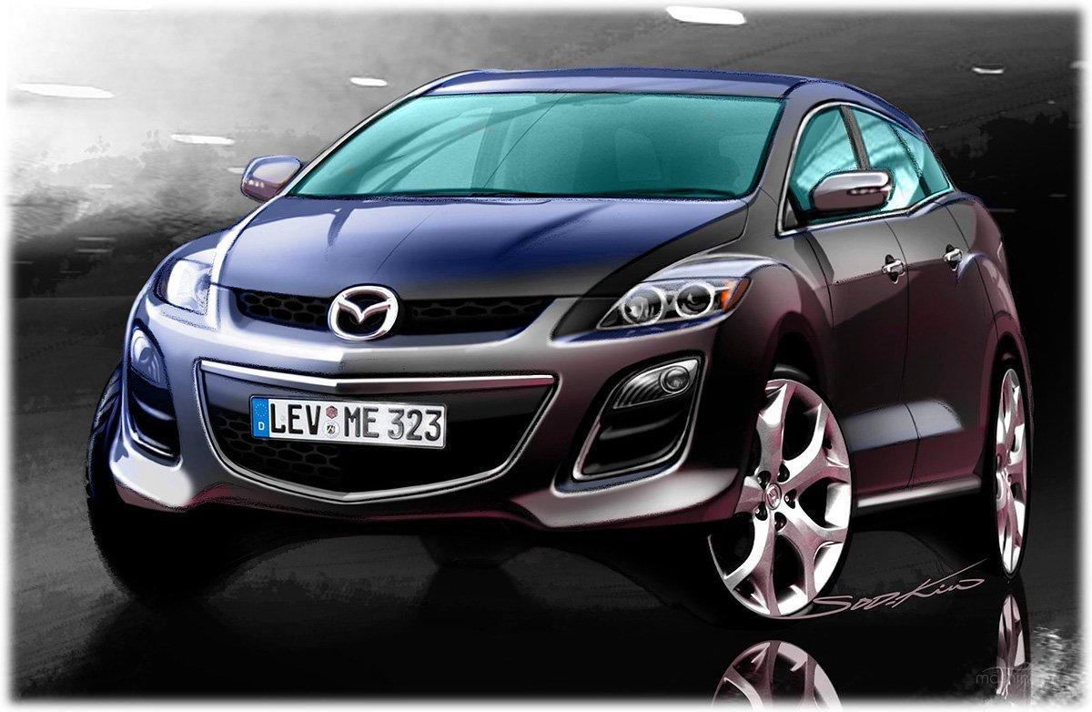 Mazda CX-5: очередной кроссовер с новыми опциями или носитель передовых технологий 484