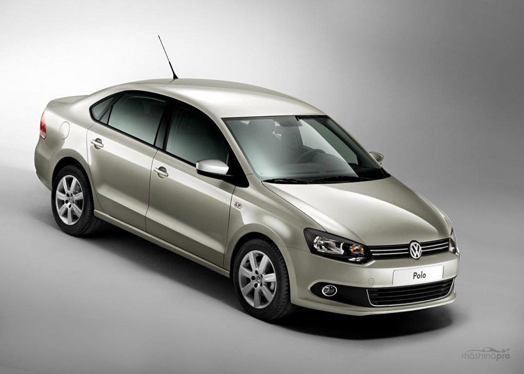 Обновление внешнего вида модели VW Polo