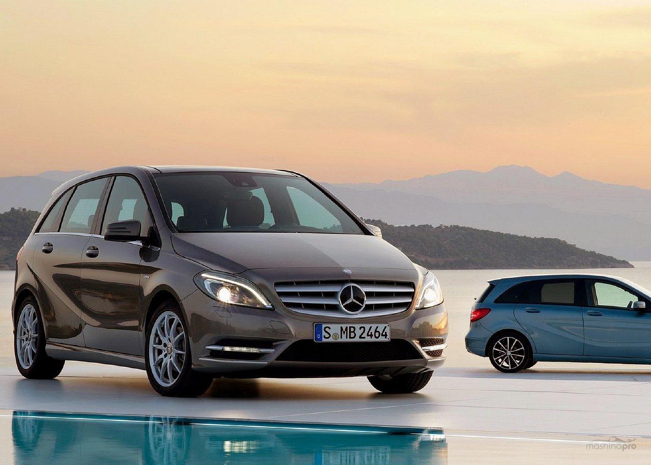 Mercedes Benz: экземпляры, представляющие современный модельный ряд