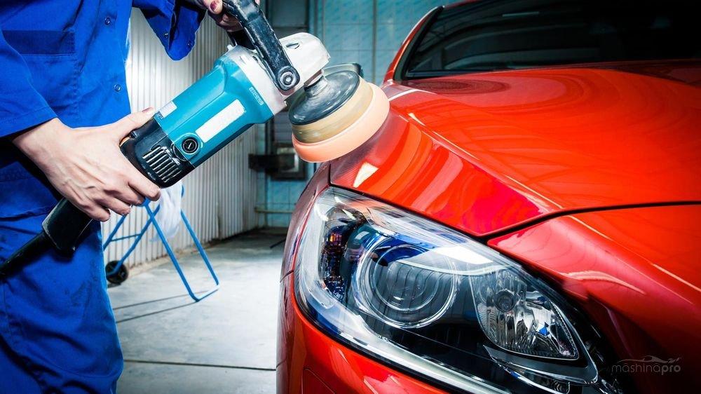 Znalezione obrazy dla zapytania Особенности полировки автомобиля