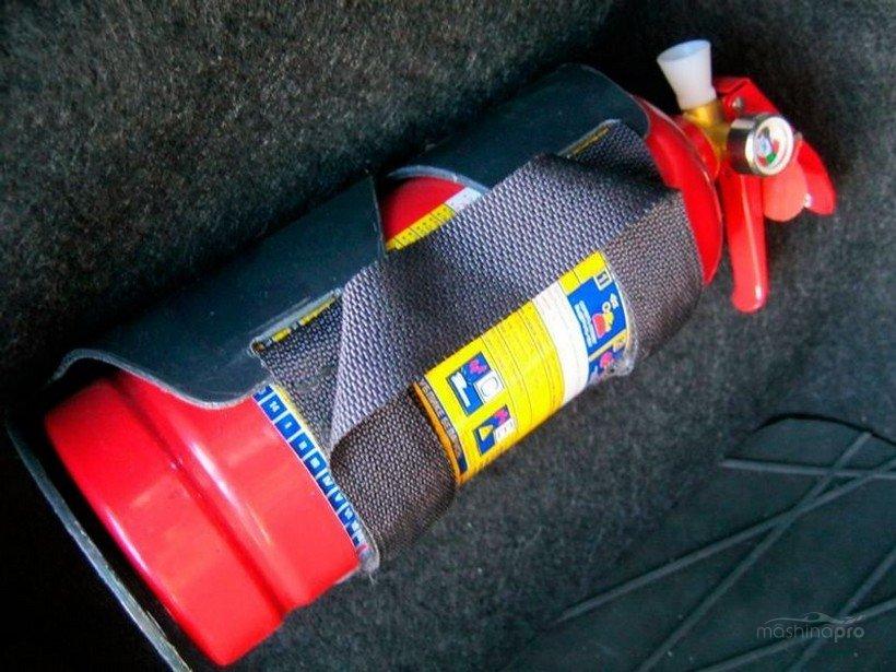 Огнетушители для автомобилей по пдд