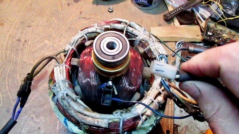 Проверка обмотки генератора