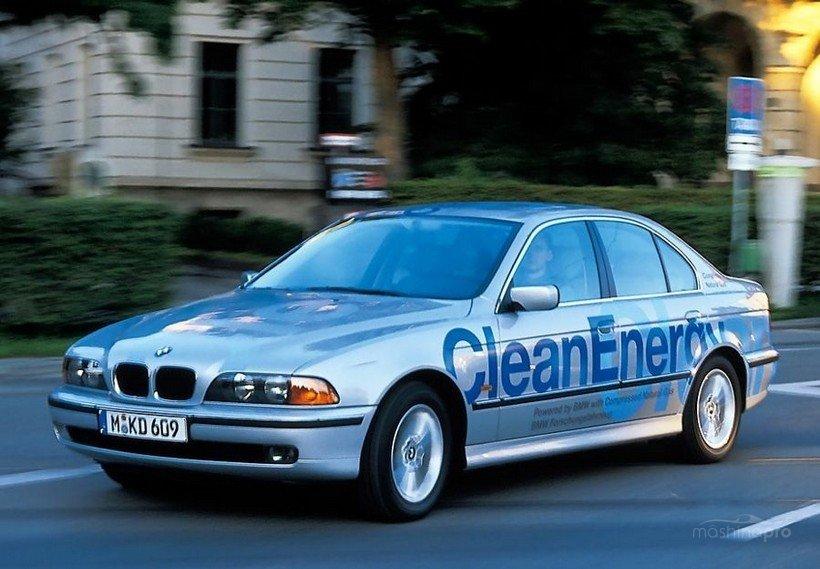 BMW с водородным двигателем