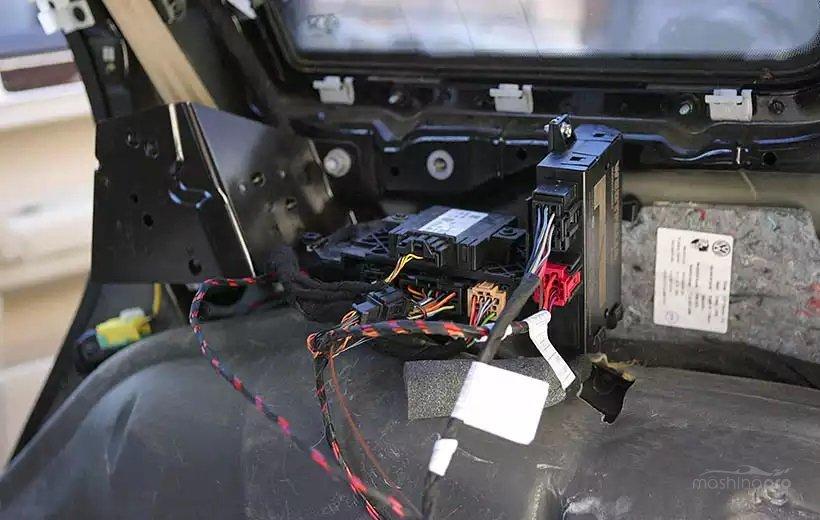 Блок согласования электрики фаркопа