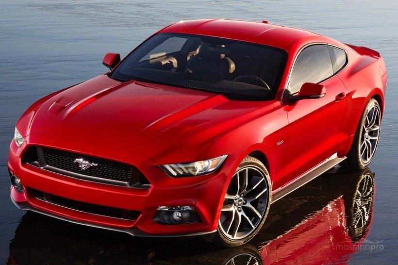 Современный Ford Mustang
