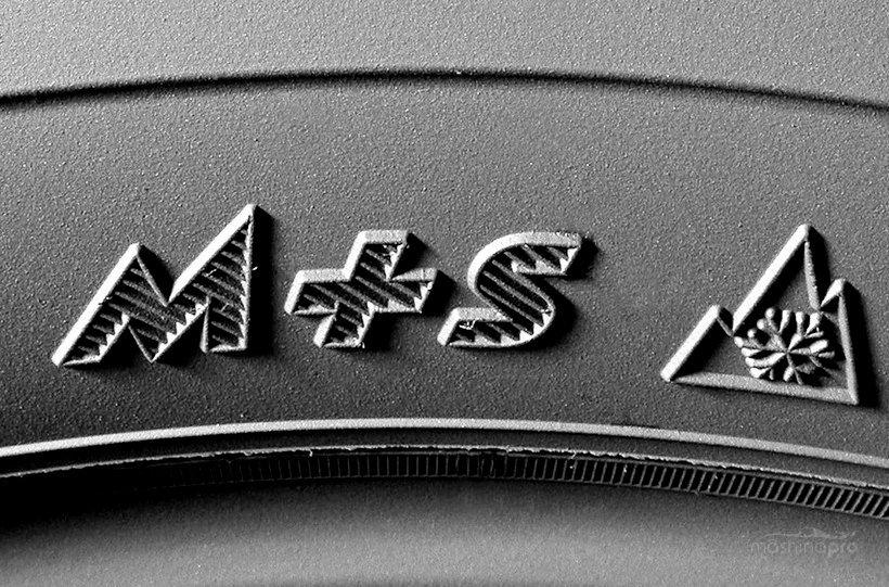 Зимняя маркировка шин
