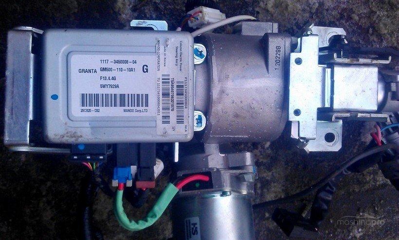 Блок управления электроусилителя