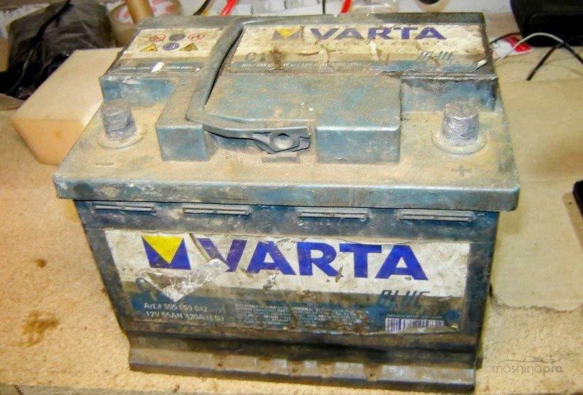 Старый аккумулятор