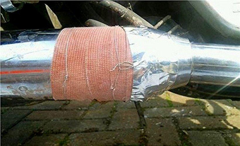 Фиксация бандажной ленты