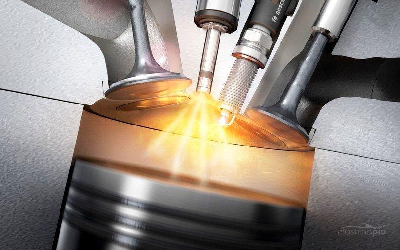 Воспламенение топлива в камере сгорания